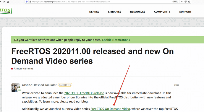 2020-11-11 22-12-58 FreeRTOS 202011.00 released and new On Demand Video series - Announcements - FreeRTOS Community Forums .png